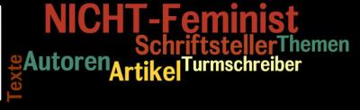 NICHT-Feminist - Header - Schriftsteller, Autoren