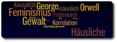 NICHT-Feminist - Header - NICHT-Feminist - Header - Feminismus, Gewalt, George Orwell