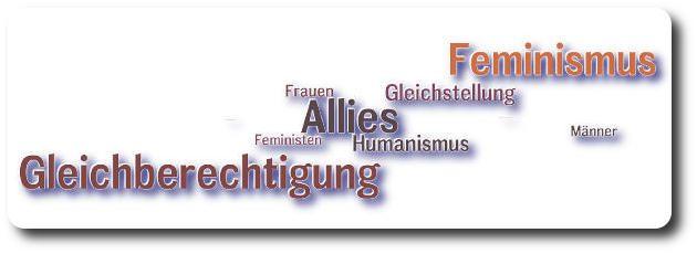 NICHT-Feminist - Header - Feminismus, Gleichberechtigung, Allies
