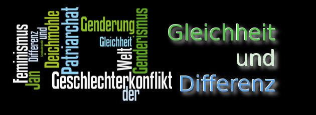 NICHT-Feminist - Header - Gleichheit, Differenz, Patriarchat