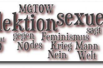 NICHT-Feminist - Header - MGTOW, sexuelle Selektion, Feminismus