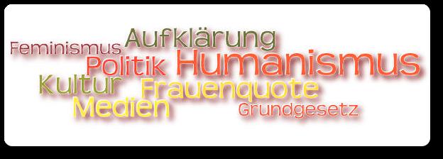 NICHT-Feminist - Header - Feminismus, Humanismus, Frauenquote, Grundgesetz