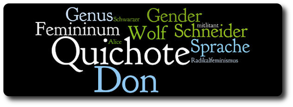NICHT-Feminist - Header - Sprache, Gender, Genus, Femininum