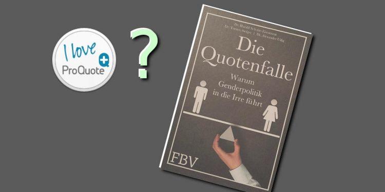 Buch - Die Quotenfalle - Frauenquote