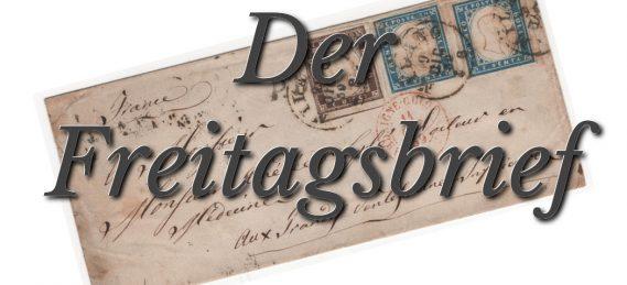 Der Freitagsbrief - Professor Dr. Günter Buchholz - Faktum