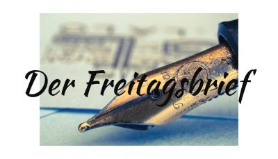 Freitagsbrief - Professor Buchholz - Faktum Magazin