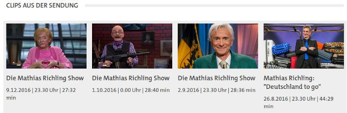 Die Mathias Richling Show - Faktum Magazin