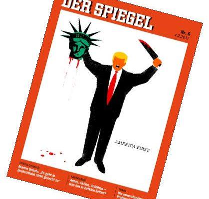Spiegel - Cover - Februar 2017 - Donald Trump