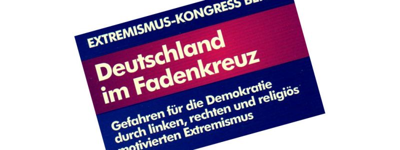 Auf dem Extremismus-Kongress der #AfD in Berlin