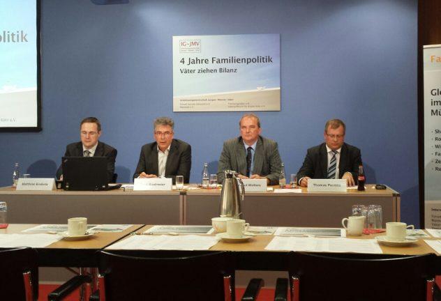 Pressegespräch - IG-JMV