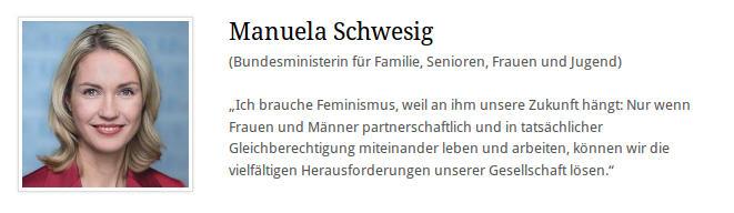 Manuela Schwesig - was ist Feminismus nicht - Faktum Magazin