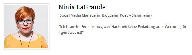 Ninia LaGrande - Nacktheit - Faktum Magazin