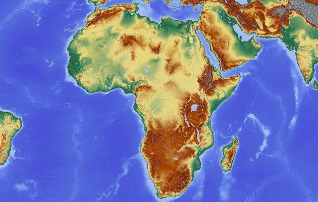 Afrika - Karte - Faktum Magazin