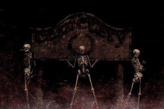 Sankt Martin erzählt unheimliche Geschichten zu Halloween