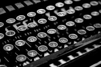 Schreibmaschine - Journalismus