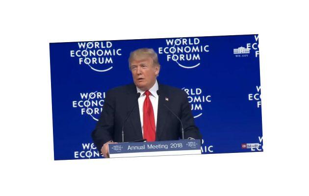 Donald Trump - Davos - Faktum Magazin