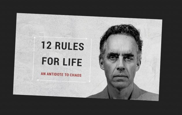 Jorden Peterson - 12 rules for life