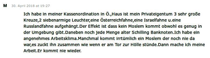 Kommentar Österreich Arzt