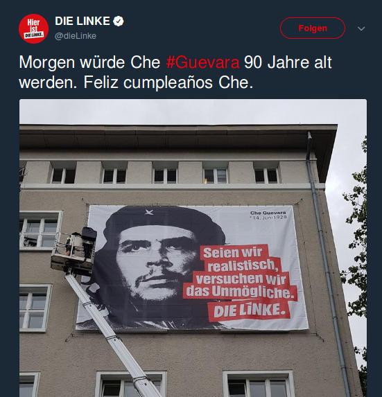 Die Linke - Che Guevara - 180613