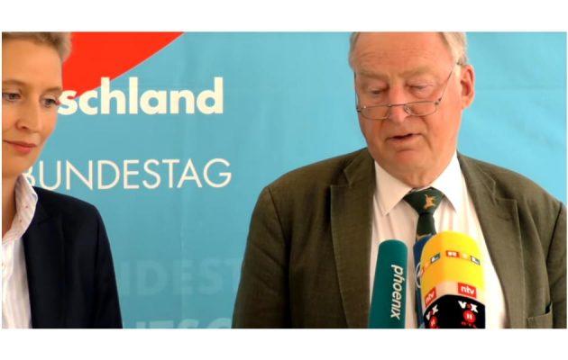 Alice Weidel - Alexander Gauland - Pressekonferenz - Faktum Magazin