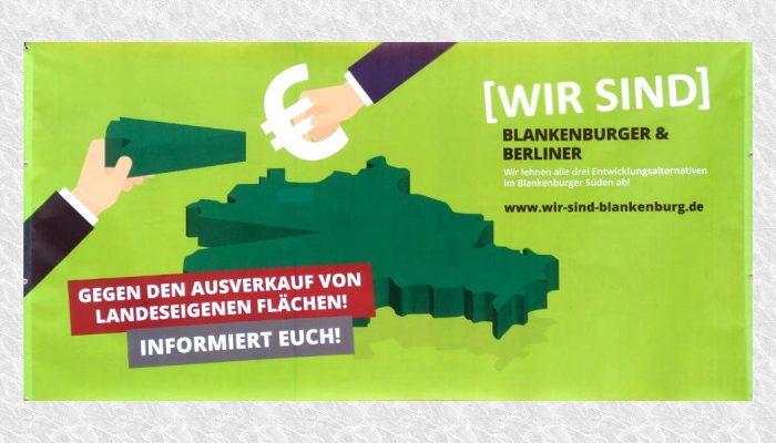 Rotes Rathaus in Berlin: Mahnwache gegen linke Enteignung [Wir sind Blankenburg]