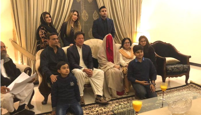 Pakistan: Hochzeitsfoto vom neuen Premierminister Imran Khan