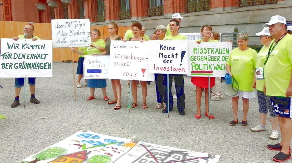 Wir sind Blankenburg - Gruppe - gegen linke Enteignung